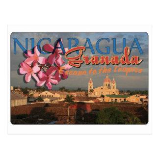 Cartão Postal Granada Nicarágua