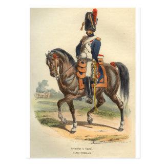 Cartão Postal Granadeiro do cavalo da guarda