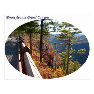 Cartão Postal Grand Canyon de Pensilvânia