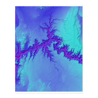 Cartão Postal Grand Canyon do estilo brilhante da nebulosa do