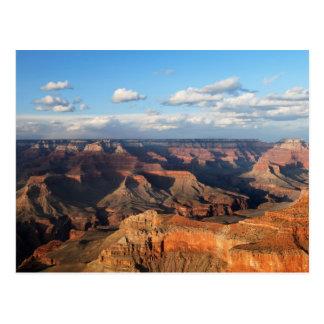 Cartão Postal Grand Canyon visto da borda sul na arizona