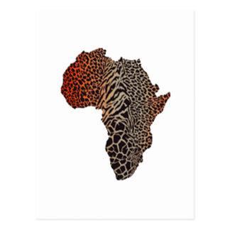 Cartão Postal Grande África