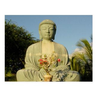 Cartão Postal Grande Buddha na missão de Lahaina Jodo
