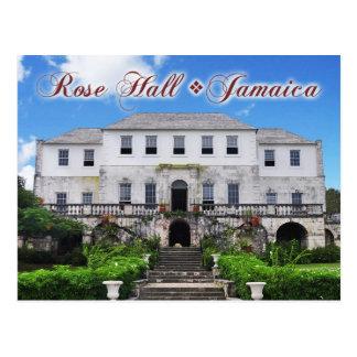 Cartão Postal Grande casa cor-de-rosa de Salão, St James,