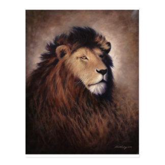 Cartão Postal Grande leão