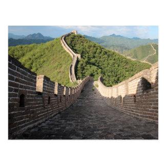 Cartão Postal Grande Muralha de China - Huanghuacheng