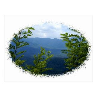 Cartão Postal Grandes montanhas de Smokey