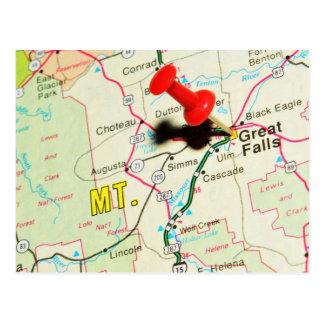 Cartão Postal Great Falls, Montana
