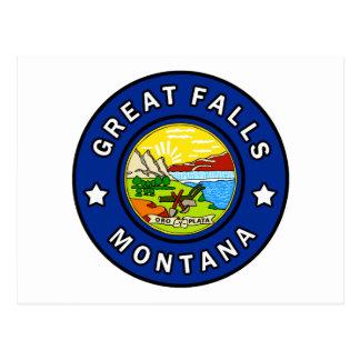 Cartão Postal Great Falls Montana