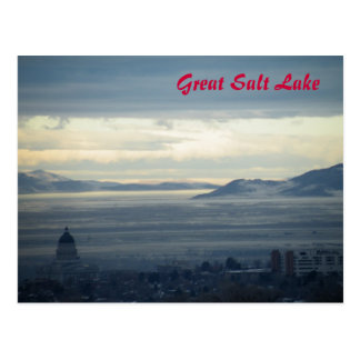 Cartão Postal Great Salt Lake