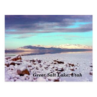 Cartão Postal Great Salt Lake, Utá