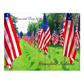 Cartão Postal Greenfield Indiana, Memorial Day 2010