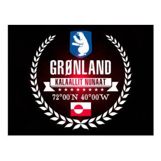 Cartão Postal Greenland