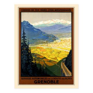 Cartão Postal Grenoble