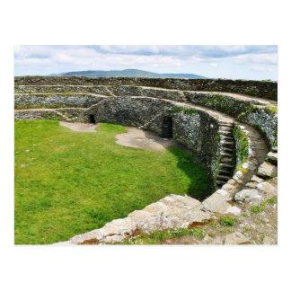Cartão Postal Griahan do forte de pedra de Aileach