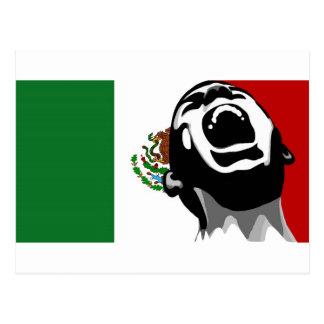 Cartão Postal Gritar para México