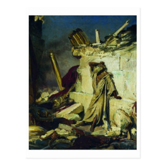 Cartão Postal Grito do profeta Jeremiah