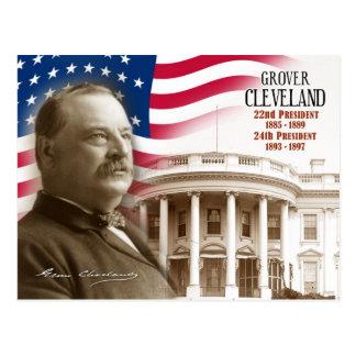 Cartão Postal Grover Cleveland - 2ò & 24o presidente dos E.U.