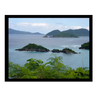 Cartão Postal Grupo de ilha