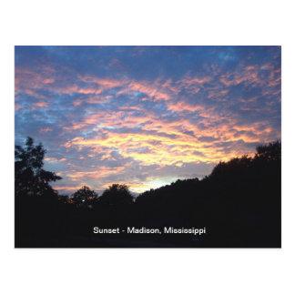 Cartão Postal Grupo de Sun