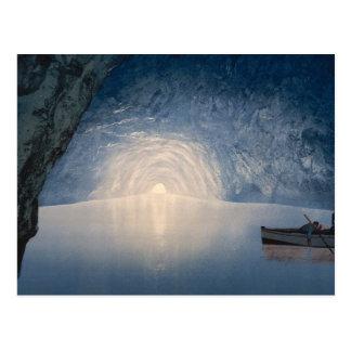 Cartão Postal Gruta azul, Capri