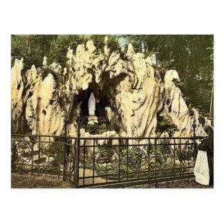 Cartão Postal Gruta de Lourdes, perto do nunnery de Ingenbohl,