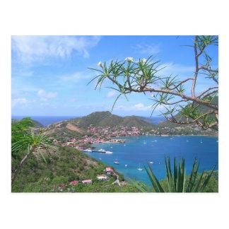 Cartão Postal Guadalupe - a Baía Saintes View