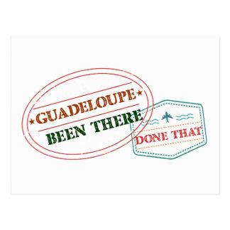 Cartão Postal Guadalupe feito lá isso