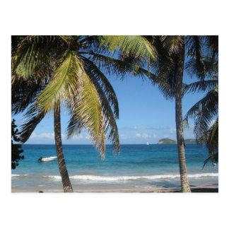 Cartão Postal Guadeloupe - Sea View