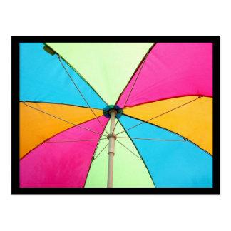 Cartão Postal Guarda-chuva