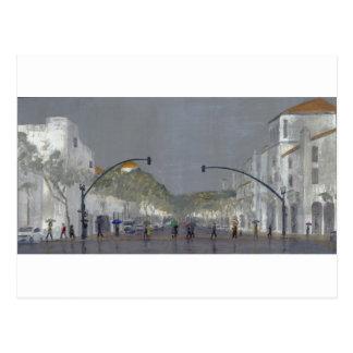 Cartão Postal Guarda-chuvas em Chapala