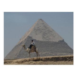 Cartão Postal Guardando as pirâmides
