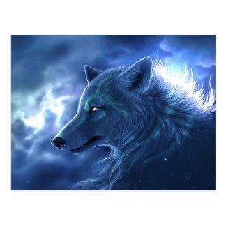 Cartão Postal Guardião do lobo