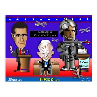Cartão Postal Guerra e paz do debate 3