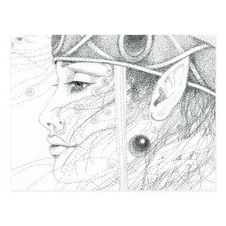 Cartão Postal Guia do anjo do Shaman