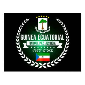 Cartão Postal Guiné Equatorial