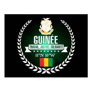 Cartão Postal Guinée