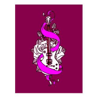 Cartão Postal Guitarra 2