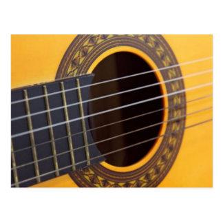 Cartão Postal Guitarra acústica