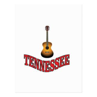 Cartão Postal Guitarra de Tennessee
