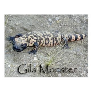 """Cartão Postal """"Gunny"""" o monstro de Gila no congresso, arizona"""