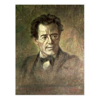 Cartão Postal Gustav Mahler