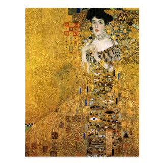 Cartão Postal GUSTAVO KLIMT - Retrato de Adele Bloch-Bauer 1907