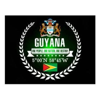 Cartão Postal Guyana