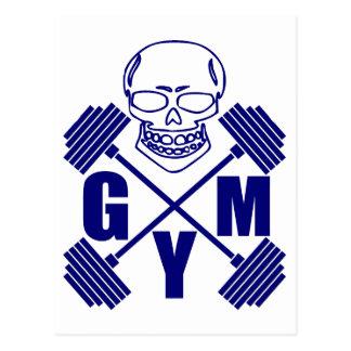 Cartão Postal Gym e levantamento