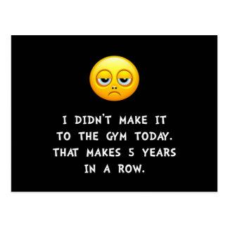 Cartão Postal Gym hoje