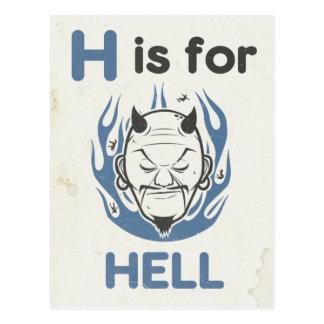Cartão Postal H é para o inferno