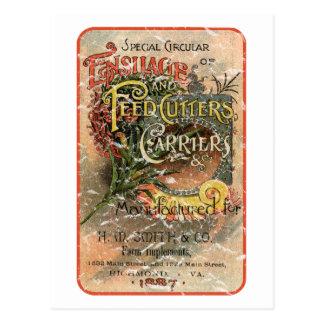 Cartão Postal H.M. Smith & Co. - 1887 - afligidos