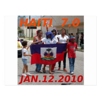 CARTÃO POSTAL HAITI 7,0