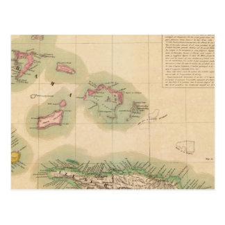 Cartão Postal Haiti e República Dominicana setembro de 68